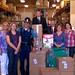 Zonta members with the donations shipped to The Emmonak Women's Shelter.