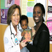 Reach Out and Read pediatricians encourage parents to read aloud with children as young as 6 months old.