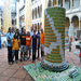 CANstruction completed - say hello to the WashingCAN monument and the 2012 build-out team!
