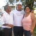 Allan (center) with his Mae and Pai at Lar Batista Biblico in Brazil as he heads off to college.
