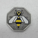 Bee medallion