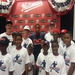 Nationals Pitcher Edwin Jackson wears the Dynasty Logo t-shirt