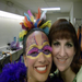 "Carly and fellow Diva candidate, Heather Shinpaugh, in Cary Player's ""Once Upon a Mattress"""