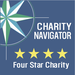 For the fourth year in a row, we have earned Charity Navigator's 4-star rating
