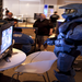 Spartan playing Halo Reach at Halo Fest 2011