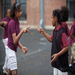 Conflict resolution - Playworks uses rock/paper/scissors, and amazingly, it works! Who kicks first - problem solved.