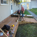 Our Zonta Men build a handicap ramp to a fourplex for the 2010 United Way Day of Caring.