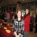 Pam & Bonnie at the AWHOF Induction Ceremony. Zonta was instrumental in organization and founding of the AWHOF.