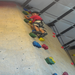 Climbing the walls at Central Rock gym