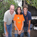 Tom and Gavan visiting Jackeline, our sponsored child.