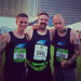 Andy, Bob, and I before last on race day!