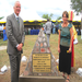 KARUCO Groundbreaking - October 11, 2012. Kjell Bergh (Consul) and Jan Hansen (ETI) at ceremony in Karagwe.