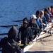 Row Boston Novice's getting ready to head out