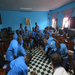 Dancing in class in Buea Town