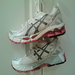 My umpteenth pair of Asics Gel Kayanos - to keep me going mile after mile.