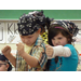 1st grade students in character as Tough Boris, the pirate, by Mem Fox. Photo credit: C. Hamilton Quill