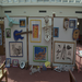 An art exhibition of the children's work