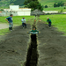 A Trench to Connect the Bathrooms and Community Center to a Water Supply in San Antonio de Alao, Ecuador 2011