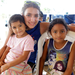 Me, Eymy, and Nayeli at the Farewell Party in Sonrisa de Dios, Nicaragua 2012
