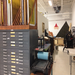 A nice shot of our flat files and letterpress alley.