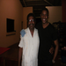 Alfred and I. He works with Ophan Network. He told me about almost every establishment we passed as we traveled.