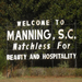 Manning, SC - the town in which I am currently working, and the home of my community partners!