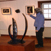 The Burnett Gallery offers a different art exhibit each month for the public to enjoy.