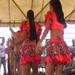 Girls of the Community Dance in the Welcoming Ceremony in Sonrisa de Dios, Nicaragua 2012