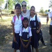 Me and GIrls in the Community in Sonrisa de Dios, Nicaragua 2012