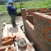 A Worker Helps Me Build a Wall in San Antonio de Alao, Ecuador 2011