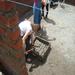 A Picture of Me Mixing Cement in San Antonio de Alao, Ecuador 2011