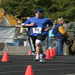 The last 200m of the 2007 Midsouth Marathon (Wynne, AK) are on a high school track... On 11/23 I will go a bit longer...