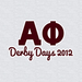 Alpha Phi Derby Days 2012