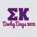 Sigma Kappa Derby Days 2012