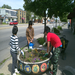 Volunteers Help Plant the Snelling Avenue Planters