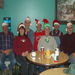 A.M. Coffee Drinkers sharing Christmas Cheer