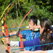 Archery teaches calmness, focus and accuracy