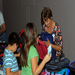 School children receive backpacks and supplies to help them start their year right.