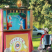 Puppet shows in your driveway