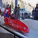 "The Original ""Red Sled"" with Amputee Brakeman and Para/Quad Driver"