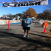 John at the finish line, Chickamauga Battlefield Marathon