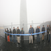 Community wind owners dedicate their new wind turbine.