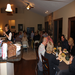 Over 60 members & guests attended the progressive dinner in November