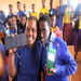 Masai school girls in the Image Tanzania education project now have solar light to be able to study after dark.