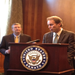 GPI Policy Director Brad Crabtree speaking at a press conference on Capitol Hill.