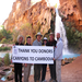 Over $3000 in donations were raised during this hike to benefit the children at Spitler School in Cambodia.