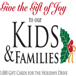 1,000 Gift Cards for the Holidays Drive