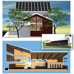 The Library We Want: Valatie Free Library's forthcoming near-Net-Zero hybrid library will be created through the retrofit and expansion of an historic barn.  501(c)(3)