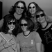 Me with my first Ladies Rock Camp band, Feral Fawcett!