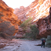 Havasuapi Canyon (a portion of the Grand Canyon) is filled with miles of beautiful sheer cliffs and geological wonders.